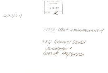 Ontvangstbevestiging gemeente leudal B en W wmo woningaanpassing wethouder krijgt zijn post niet