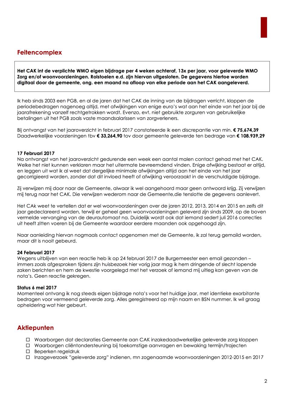 Bijlage 5-2 Plan van Aanpak - PGB - Discrepantie van 75674 Euro geleverde zorg CAK (6 mei 2017).png