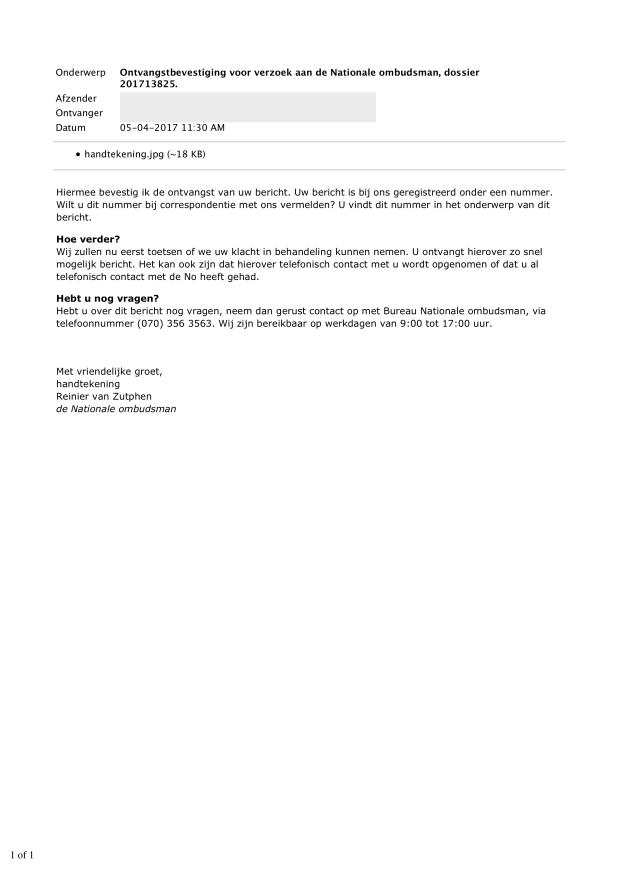 4- (5 april 2017) Ontvangstbevestiging voor verzoek aan de Nationale ombudsman dossier 201713825 - Doofpot WMO LEUDAL WEBLOG .png